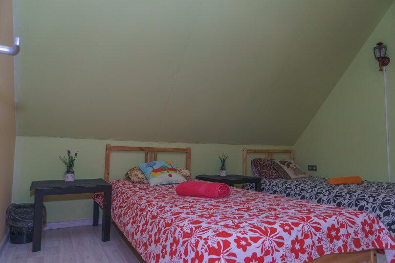 Бюджетный номер с 2 односпальными кроватями, Ольховая , 65, Новосибирск - Фотография 1