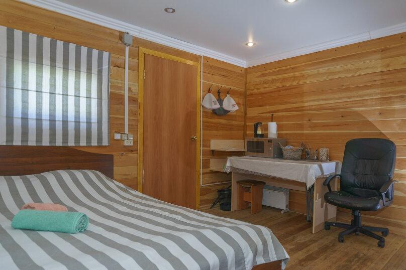 Большой номер с 1 двуспальной кроватью и сауной, Ольховая , 65, Новосибирск - Фотография 1
