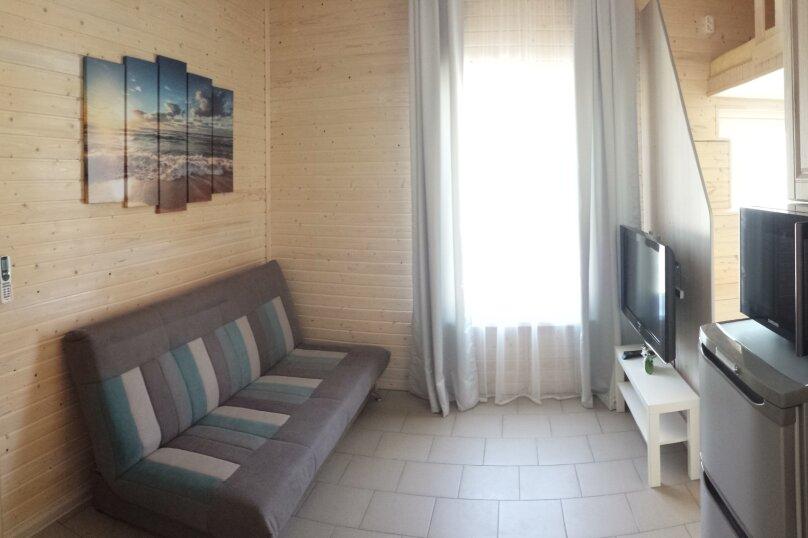 1-комн. квартира, 21 кв.м. на 4 человека, 1-й Академический переулок, 9, Севастополь - Фотография 1