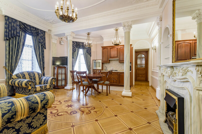 2-комн. квартира, 65 кв.м. на 4 человека, Итальянская улица, 29, метро Фрунзенская, Санкт-Петербург - Фотография 1