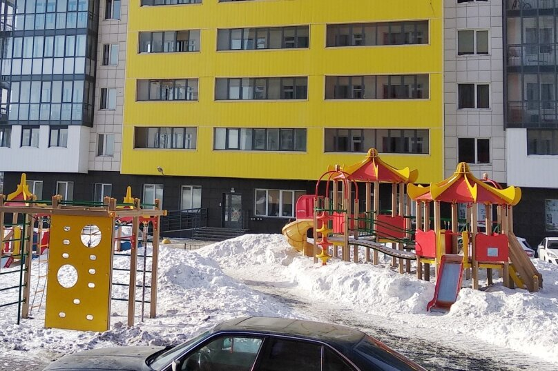 1-комн. квартира, 45 кв.м. на 3 человека, Ипподромская улица, 75, Новосибирск - Фотография 15