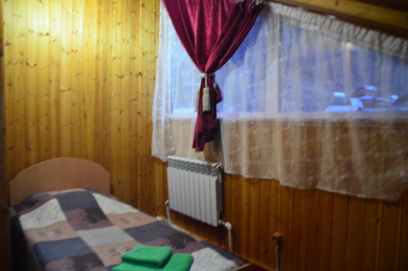Двухместный номер с двумя отдельными кроватями, улица Гудина, 84, Листвянка - Фотография 1