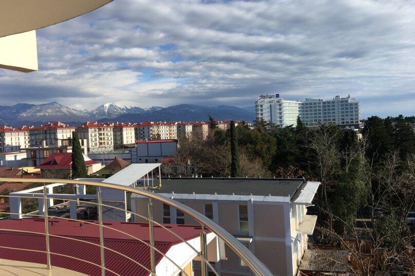 Люкс с балконом с обзорным видом, Нижнеимеретинская, 161, Адлер - Фотография 2