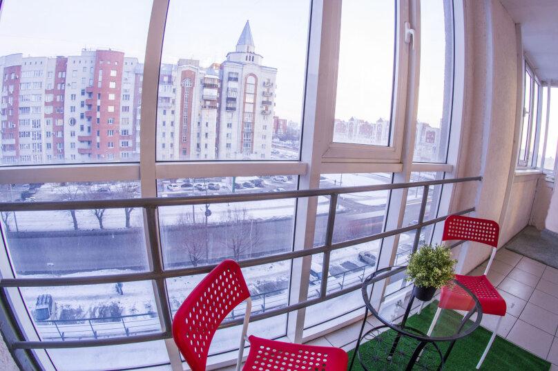 1-комн. квартира, 40 кв.м. на 2 человека, улица Маршала Жукова, 101к1/37, Омск - Фотография 7