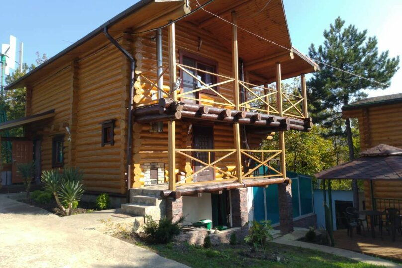 Дом бревенчатый в лесу, у моря, с бассейном., 110 кв.м. на 6 человек, 2 спальни, с\т Гранат, 86А, Туапсе - Фотография 62