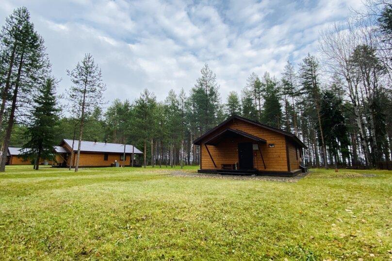 Дом, 100 кв.м. на 8 человек, 2 спальни, урочище Инжунаволок, 4, Петрозаводск - Фотография 1