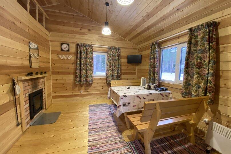 Дом, 100 кв.м. на 8 человек, 2 спальни, урочище Инжунаволок, 4, Петрозаводск - Фотография 31