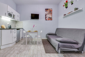 1-комн. квартира, 17 кв.м. на 4 человека, Подъездной переулок, 3А, Санкт-Петербург - Фотография 1