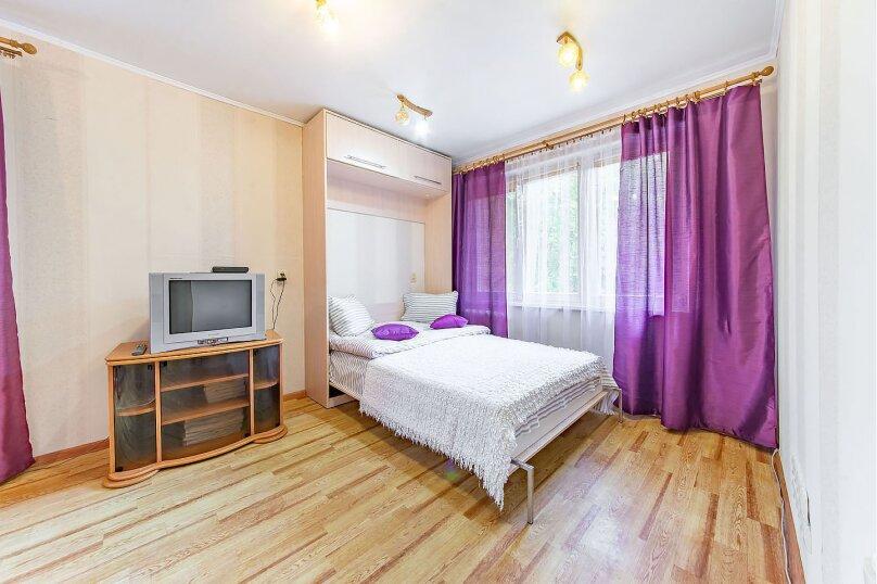 1-комн. квартира, 38 кв.м. на 4 человека, Берестянская улица, 9, Минск - Фотография 1