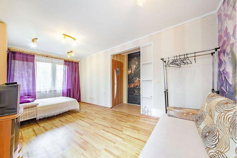 1-комн. квартира, 38 кв.м. на 4 человека, Берестянская улица, 9, Минск - Фотография 4