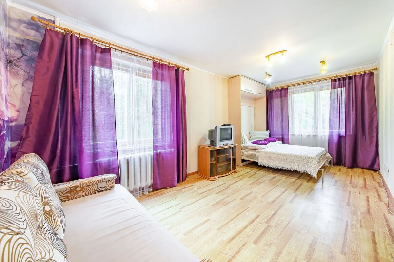 1-комн. квартира, 38 кв.м. на 4 человека, Берестянская улица, 9, Минск - Фотография 5