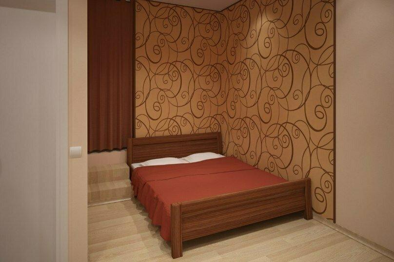Двухместный номер с 2 дополнительными местами и удобствами на этаже, Кожевенный переулок, 3, Нижний Новгород - Фотография 1