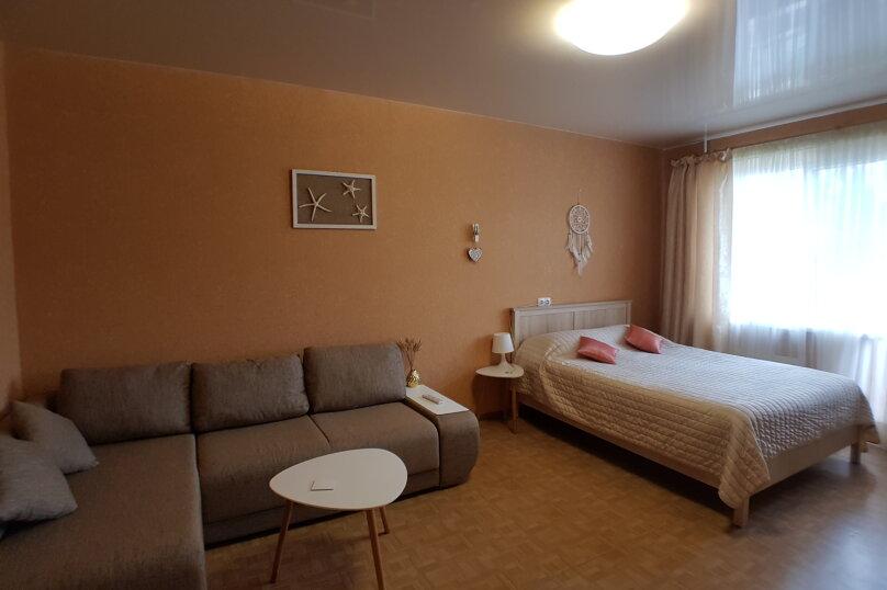 1-комн. квартира, 45 кв.м. на 4 человека, улица Карамзина, 25, Новороссийск - Фотография 12