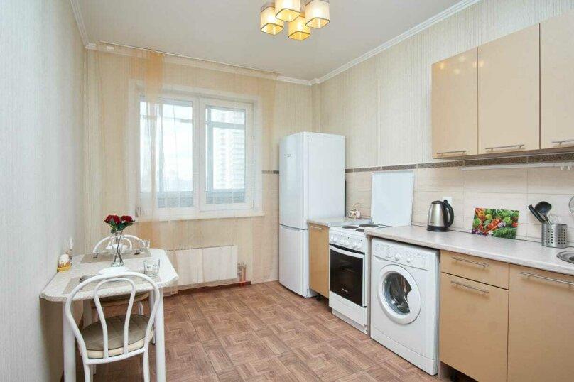 1-комн. квартира, 38 кв.м. на 3 человека, улица Шевченко, 11, Новосибирск - Фотография 4