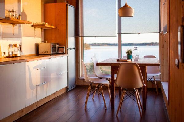 Отдых в уютном 2-х этажном доме , 86 кв.м. на 6 человек, 2 спальни, Ланино, Береговая, 5, Осташков - Фотография 1