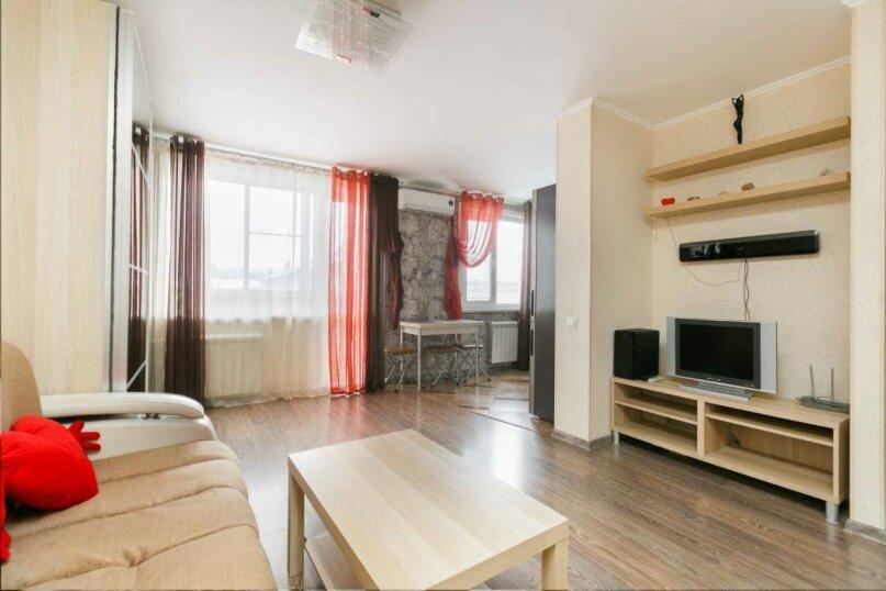 1-комн. квартира, 32 кв.м. на 3 человека, Сибирская улица, 32, Новосибирск - Фотография 3