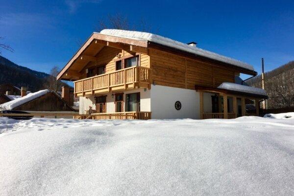 Дом в стиле альпийского шале, 250 кв.м. на 9 человек, 3 спальни, Листопадная улица, 3/1, Эстосадок, Красная Поляна - Фотография 1