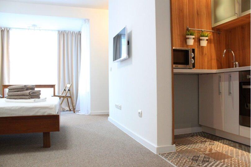 1-комн. квартира, 32 кв.м. на 4 человека, улица Ю.-Р.Г. Эрвье, 24к1, Тюмень - Фотография 4