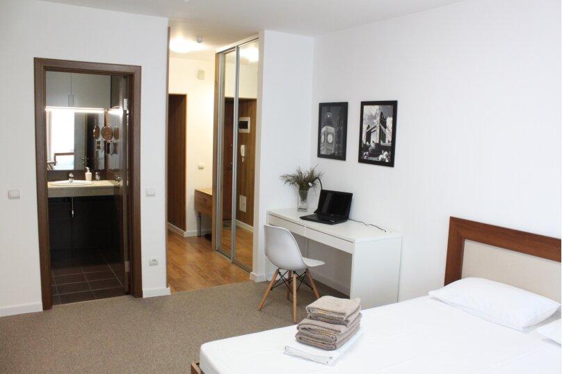 1-комн. квартира, 32 кв.м. на 4 человека, улица Ю.-Р.Г. Эрвье, 24к1, Тюмень - Фотография 23