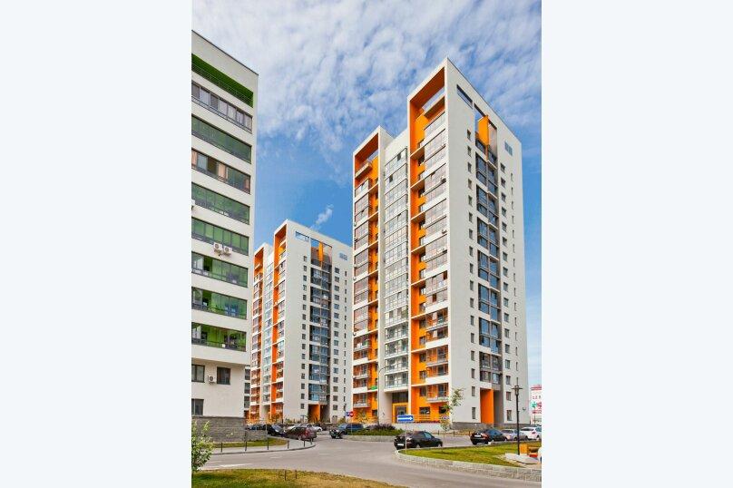 1-комн. квартира, 32 кв.м. на 4 человека, улица Ю.-Р.Г. Эрвье, 24к1, Тюмень - Фотография 32
