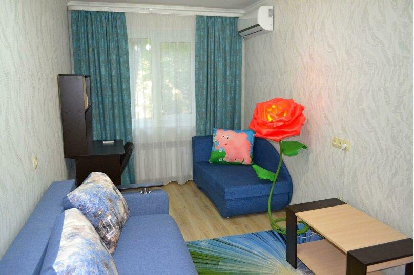 2-комн. квартира, 45 кв.м. на 4 человека, улица Вересаева, 1, Феодосия - Фотография 7