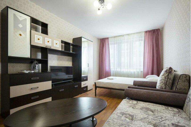 1-комн. квартира, 42 кв.м. на 6 человек, улица 9 Мая, 83к1, Красноярск - Фотография 1