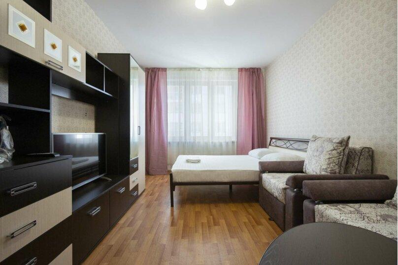 1-комн. квартира, 42 кв.м. на 6 человек, улица 9 Мая, 83к1, Красноярск - Фотография 2