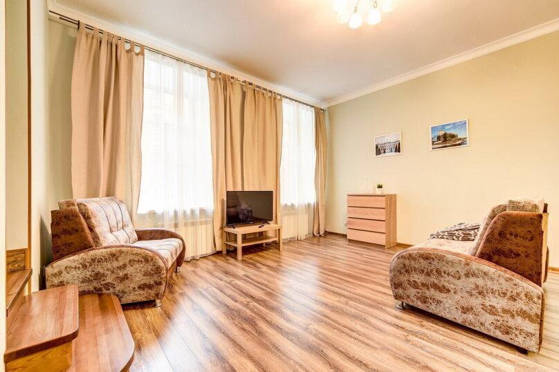 1-комн. квартира, 42 кв.м. на 5 человек, Колокольная улица, 5, Санкт-Петербург - Фотография 2