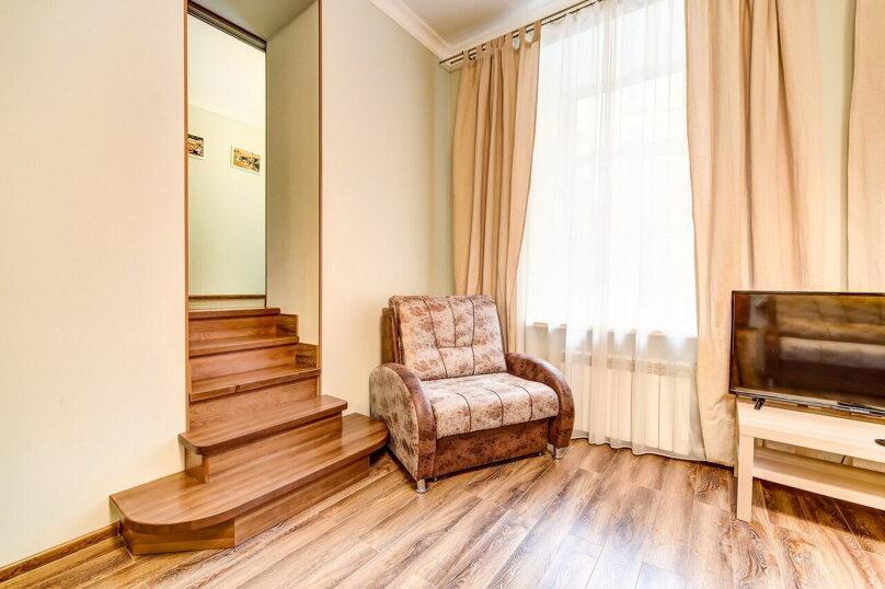 1-комн. квартира, 42 кв.м. на 5 человек, Колокольная улица, 5, Санкт-Петербург - Фотография 16