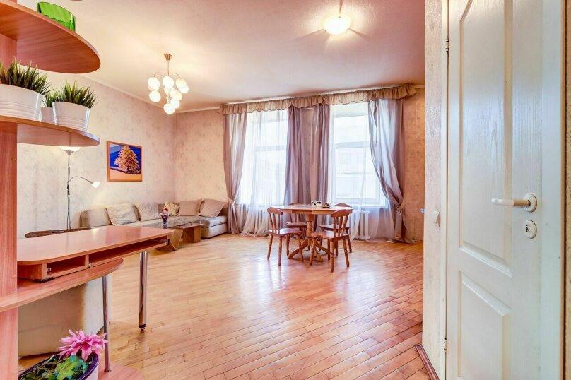 2-комн. квартира, 64 кв.м. на 6 человек, Невский проспект, 148, Санкт-Петербург - Фотография 4