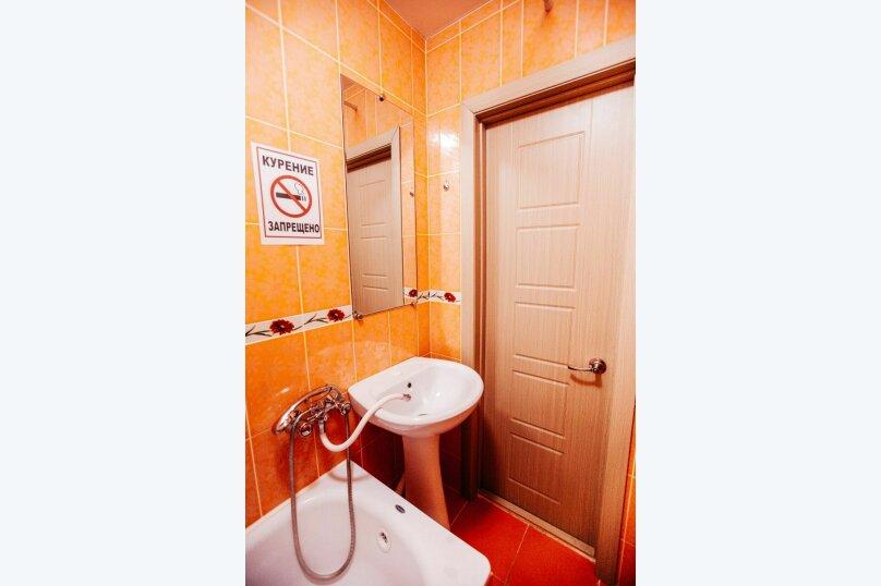 1-комн. квартира, 30 кв.м. на 3 человека, улица Рылеева, 60А, Тамбов - Фотография 14