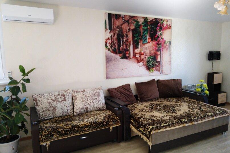 1-комн. квартира, 46 кв.м. на 6 человек, Касимовская улица, 15, Волгоград - Фотография 1