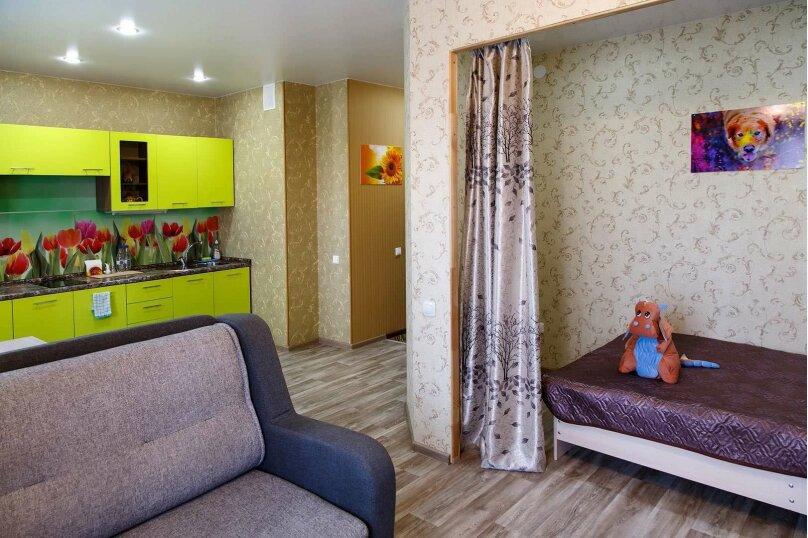 1-комн. квартира, 48 кв.м. на 4 человека, Строительный переулок, 8, Иркутск - Фотография 1