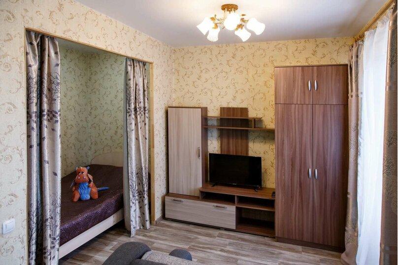 1-комн. квартира, 48 кв.м. на 4 человека, Строительный переулок, 8, Иркутск - Фотография 3