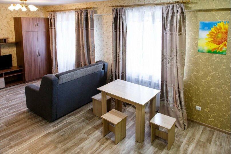 1-комн. квартира, 48 кв.м. на 4 человека, Строительный переулок, 8, Иркутск - Фотография 5
