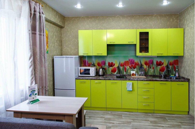 1-комн. квартира, 48 кв.м. на 4 человека, Строительный переулок, 8, Иркутск - Фотография 8
