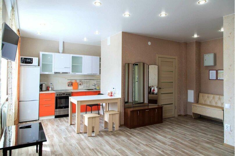 1-комн. квартира, 45 кв.м. на 2 человека, Строительный переулок, 8, Иркутск - Фотография 2