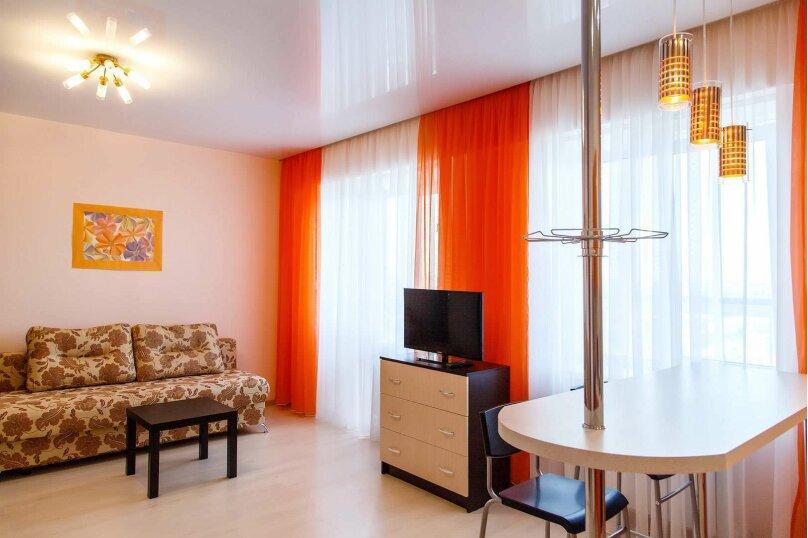 1-комн. квартира, 45 кв.м. на 4 человека, Строительный переулок, 8, Иркутск - Фотография 2
