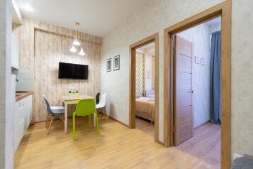 3-комн. квартира, 55 кв.м. на 6 человек, улица Турчинского, 10, Красная Поляна - Фотография 1