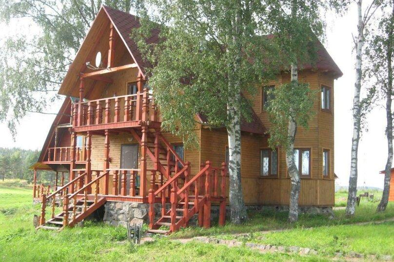 1й этаж (Деревянный дом №5 ), поселок Мийнало, хутор Микли, 1, Лахденпохья - Фотография 1