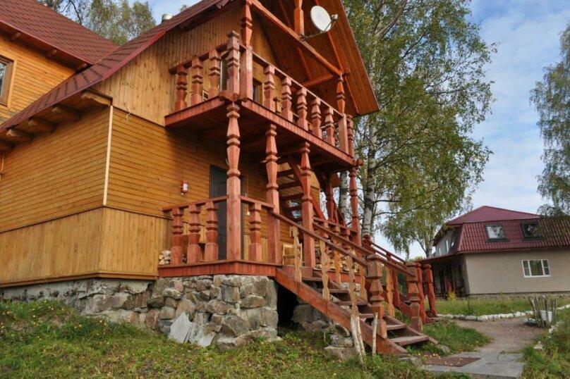 2й этаж (Деревянный дом №5), поселок Мийнало, хутор Микли, 1, Лахденпохья - Фотография 1