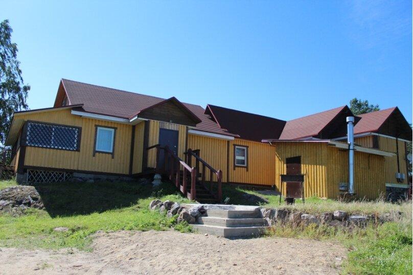Левая часть Деревянного дома №9, поселок Мийнало, хутор Микли, 1, Лахденпохья - Фотография 1