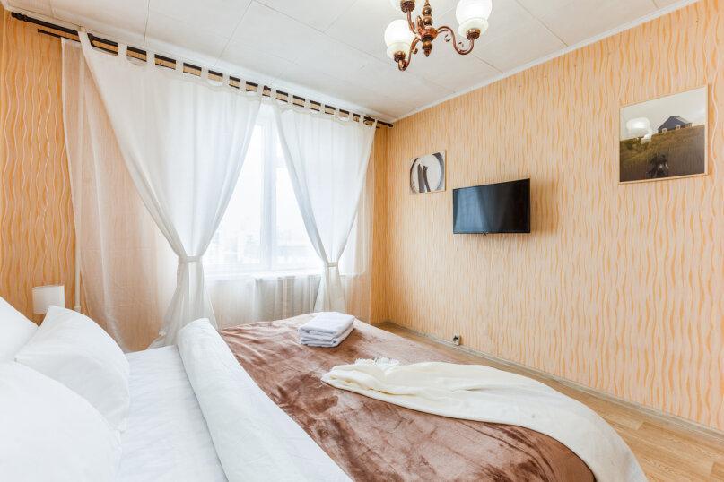 2-комн. квартира, 50 кв.м. на 4 человека, 5-я Кожуховская улица, 13, Москва - Фотография 6
