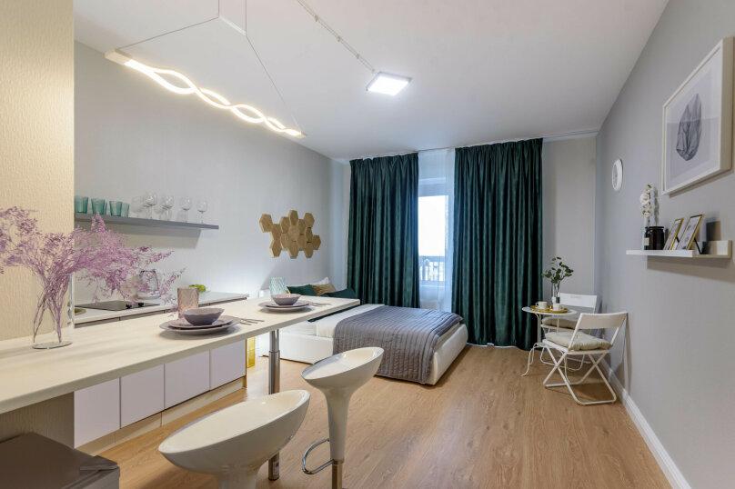 1-комн. квартира, 32 кв.м. на 3 человека, 5-й Предпортовый проезд, 2, Санкт-Петербург - Фотография 1