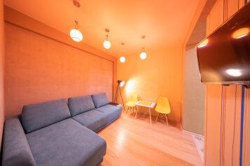 3-комн. квартира, 60 кв.м. на 8 человек, Эстонская улица, 37к7, Эстосадок, Красная Поляна - Фотография 1