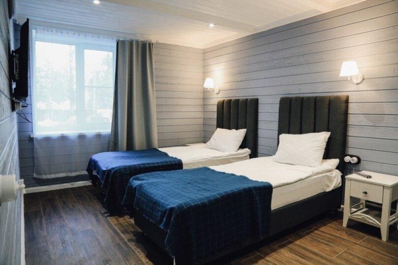 Четырехместный номер 103 с двумя раздельными комнатами, улица Мичурина, 111, Вырица - Фотография 1