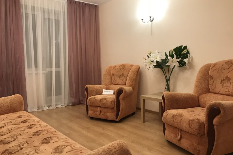 2-комн. квартира, 70 кв.м. на 6 человек, Казанское шоссе, 1, Нижний Новгород - Фотография 2