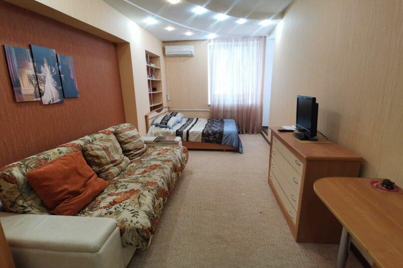 1-комн. квартира, 45 кв.м. на 4 человека, улица Космонавтов, 19к2, Волгоград - Фотография 1