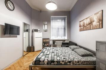 1-комн. квартира, 30 кв.м. на 3 человека, улица Рубинштейна, 15-17, Санкт-Петербург - Фотография 1
