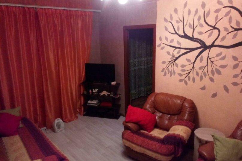 2-комн. квартира, 47 кв.м. на 7 человек, улица Народной Воли, 43А, Екатеринбург - Фотография 1